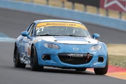 #27 Freedom Autosport Mazda MX-5: Danny Bender, Britt Casey Jr.