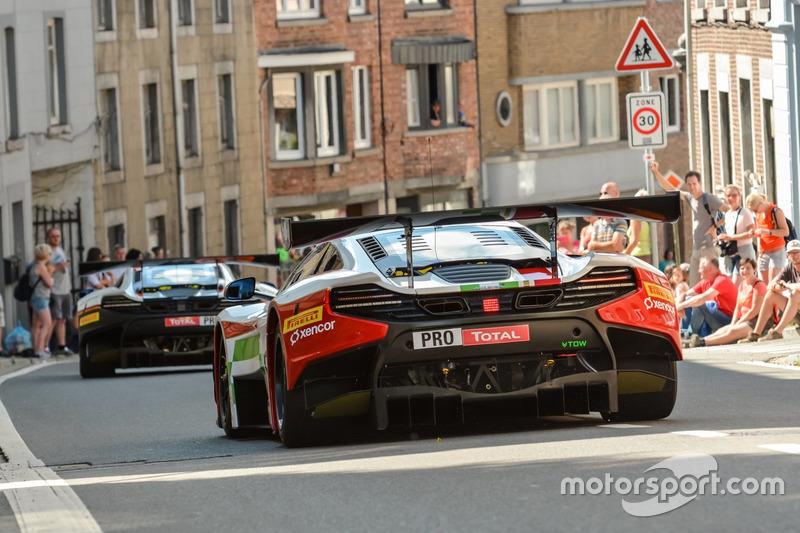 #60 Garage 59, McLaren 650 S GT3: Bruno Senna, Duncan Tappy, Pipo Derani