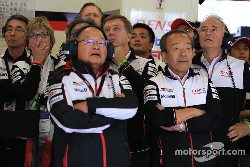 Toyota Racing team members