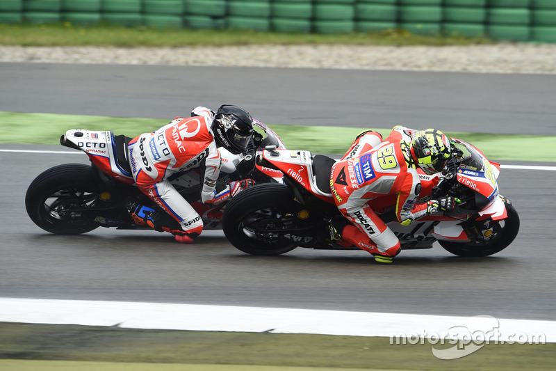 Andrea Iannone, Ducati Team ve Scott Redding, Pramac Racing