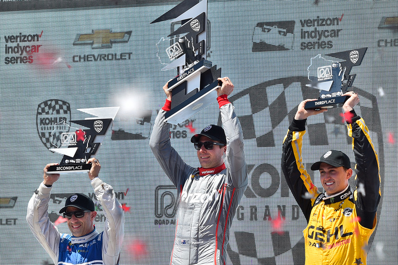 Podyum: 1. Will Power, Team Penske Chevrolet, 2. Tony Kanaan, Chip Ganassi Racing Chevrolet, 3. Graham Rahal, Rahal Letterman Lanigan Racing Honda