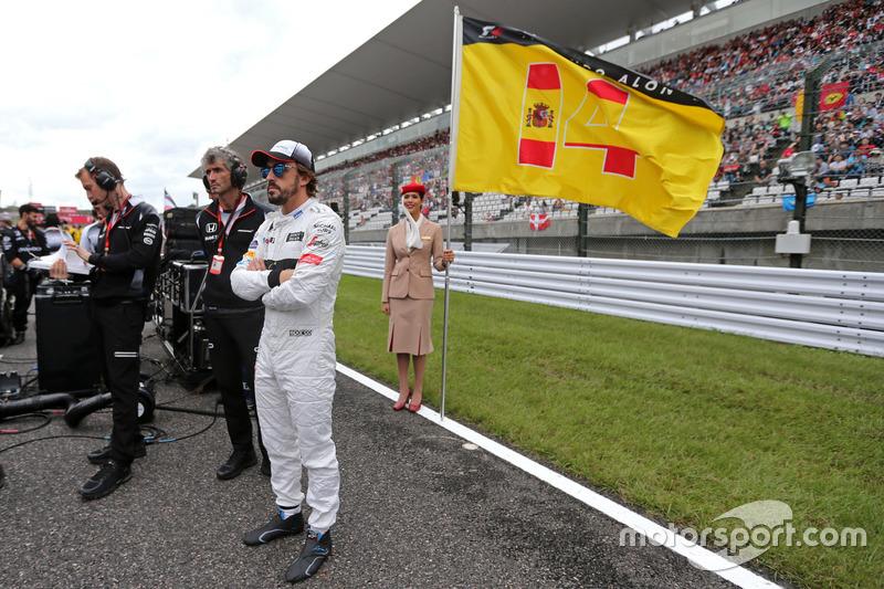 Fernando Alonso,, McLaren Honda