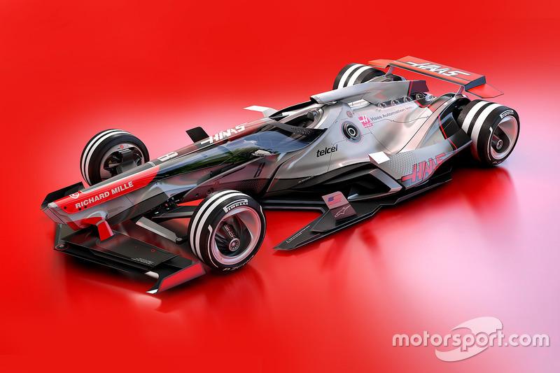 Haas F1 Team 2030 fantasy design