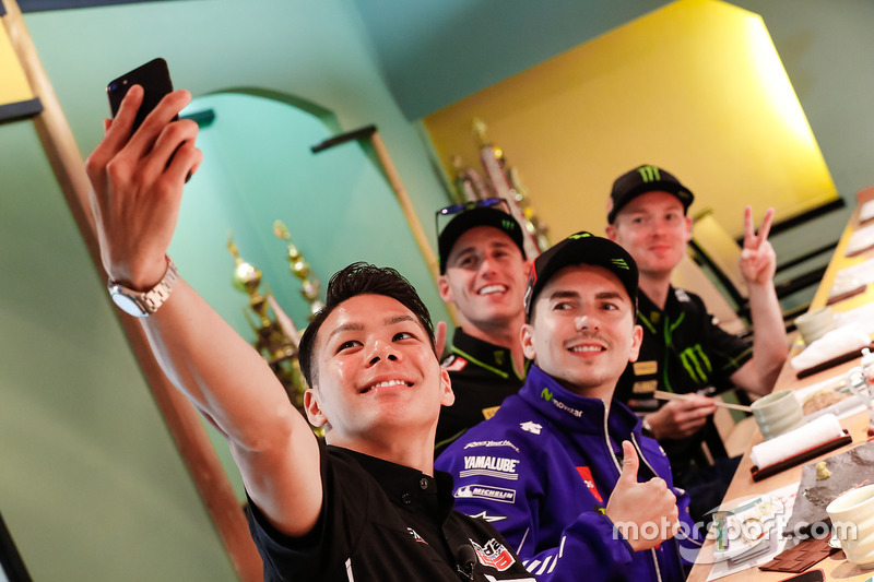 Takaaki Nakagami, Honda Team Asia, Jorge Lorenzo, Yamaha Factory Racing, Pol Espargaro, Monster Yamaha Tech 3, Bradley Smith, Monster Yamaha Tech 3