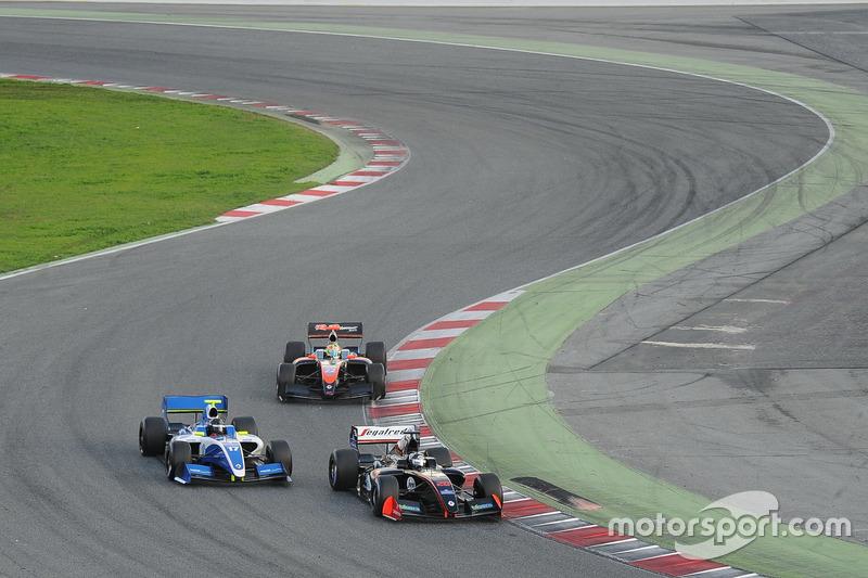 Giuseppe Cipriani, Durango Racing Team; Thomas Randle, Comtec Racing; Vitor Baptista, RP Motorsport