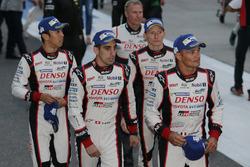 #5 Toyota Racing Toyota TS050 Hybrid: Sébastien Buemi, Kazuki Nakajima and #6 Toyota Racing Toyota TS050 Hybrid: Stéphane Sarrazin, Mike Conway