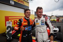 Le vainqueur Dorian Boccolacci, MP Motorsport, le deuxième, Anthoine Hubert, ART Grand Prix