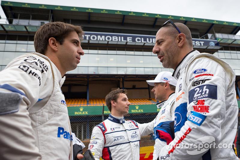 Antonio Felix da Costa, BMW Team MTEK, Tony Kanaan, Ford GT Chip Ganassi Racing