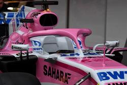 Halo de la Sahara Force India VJM11