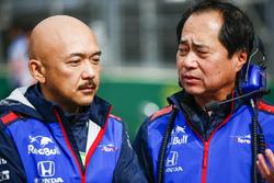 Toyoharu Tanabe, F1 Technical Director, Honda (Right)