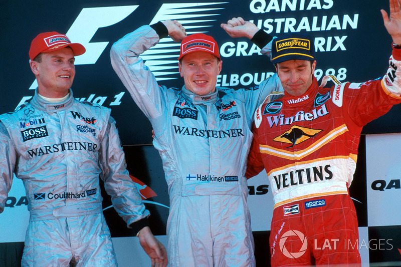 Вот таким получился Гран При Австралии 1998 года, положивший начало большим победам альянса McLaren-Mercedes