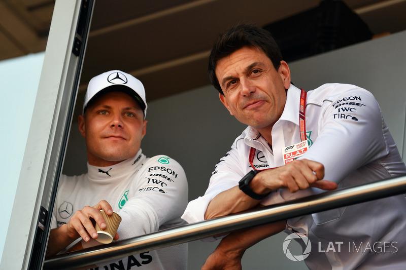 Valtteri Bottas, Mercedes-AMG F1, Toto Wolff, Mercedes AMG F1