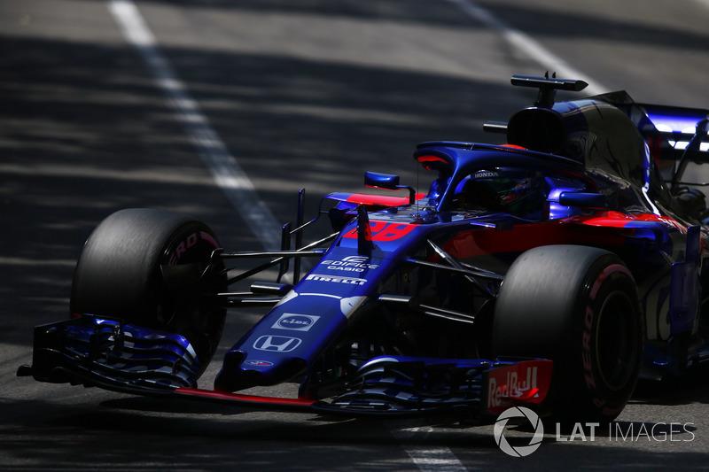 15: Brendon Hartley, Toro Rosso STR13, 1'13.179