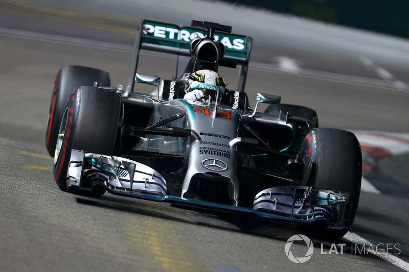 2014: Льюис Хэмилтон, Mercedes F1 W05 Hybrid