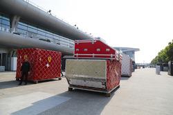 Ferrari cargo containers