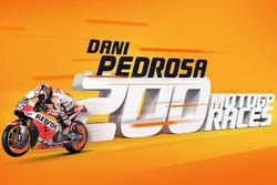 Dani Pedrosa 200 carreras MotoGP