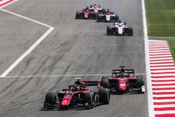 Джордж Расселл, ART Grand Prix, и Луи Делетраз, Charouz Racing System