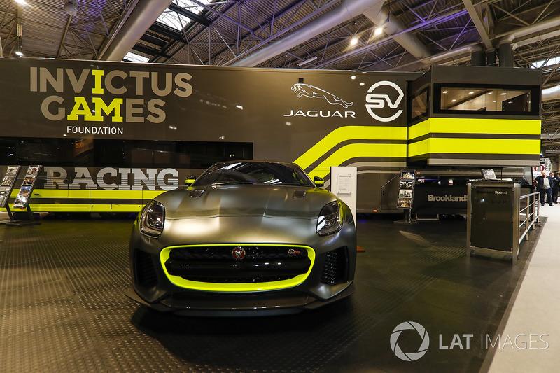The Invictus Games Jaguar GT4 F-Type