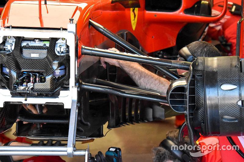 Дефлектор Ferrari SF71H