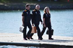 Christian Horner, Red Bull Racing Team Principal and Adrian Newey, Red Bull Racing