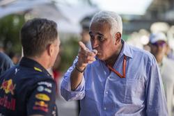 Christian Horner, Red Bull Racing Takım Patronu ve Lawrence Stroll