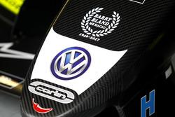 Car detail of Lando Norris, Carlin, Dallara Volkswagen