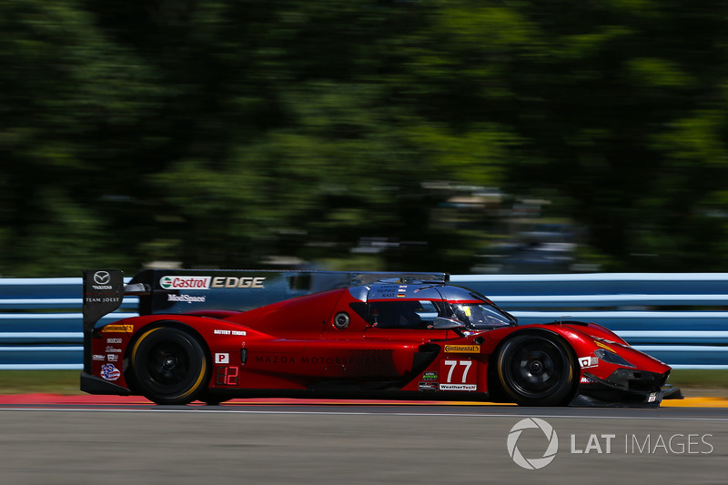 #77 Mazda Team Joest Mazda DPi, P: Oliver Jarvis, Tristan Nunez, Rene Rast