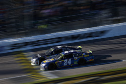 Jamie McMurray, Chip Ganassi Racing Chevrolet, Chase Elliott, Hendrick Motorsports Chevrolet