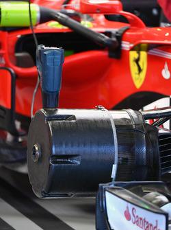 Ferrari SF70H: Vorderrad-Aufhängung