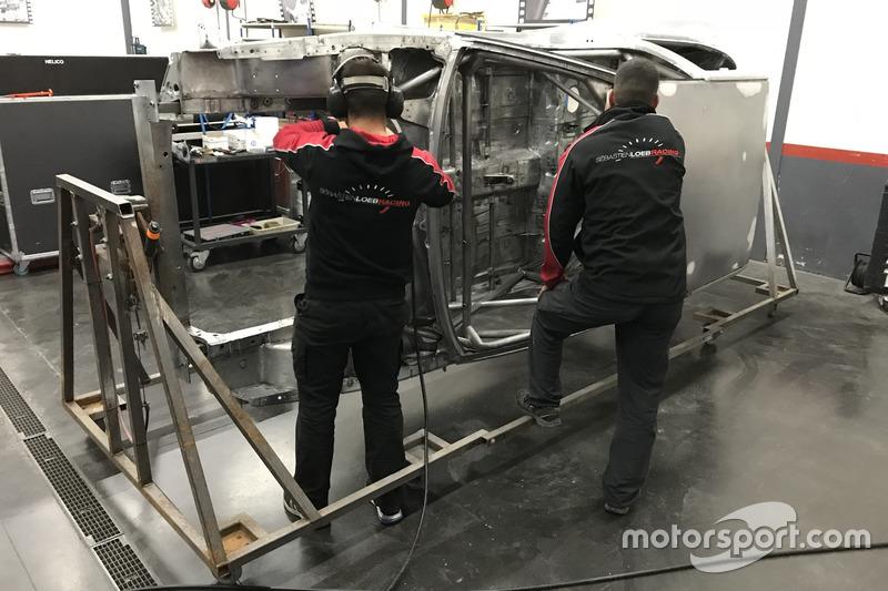Reconstruction de la Peugeot 30 Maxi du Sébastien Loeb Racing