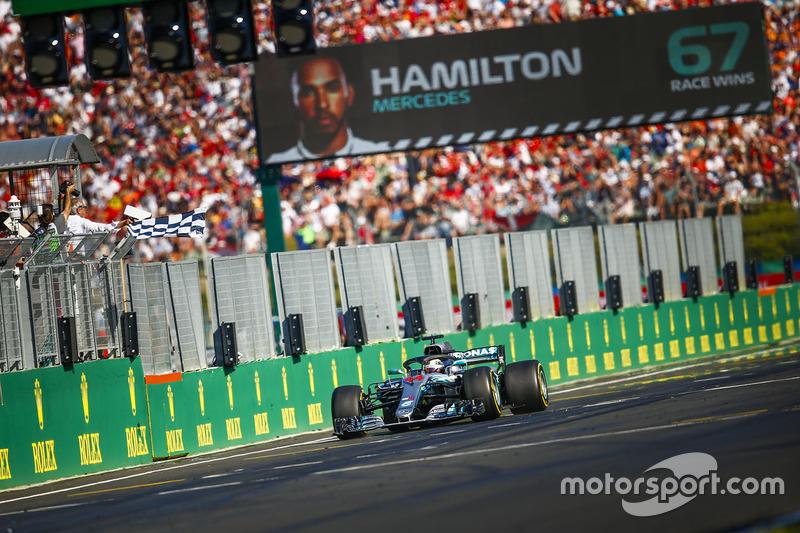 GP de Hongrie - Victoire