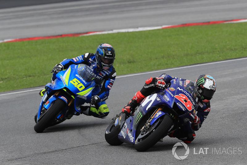 Маверік Віньялес, Yamaha Factory Racing, Сільвен Гуінтолі, Team Suzuki MotoGP