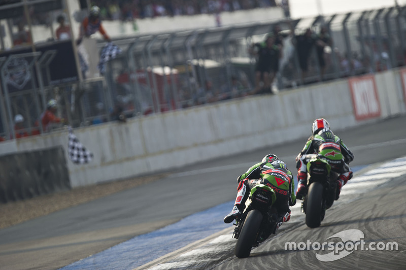 Jonathan Rea, Kawasaki Racing Team y Tom Sykes, Kawasaki Racing Team