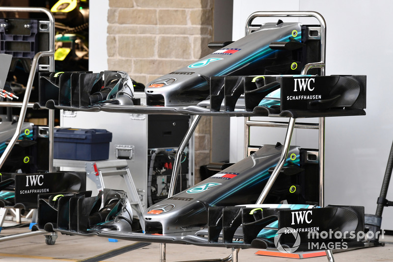 Mercedes-AMG F1 W09 EQ Power + nose and front wings