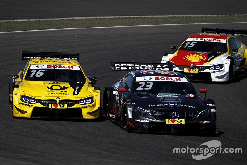 Тімо Глок, BMW Team RMG, BMW M4 DTM, Даніель Хункаделья, Mercedes-AMG Team HWA, Mercedes-AMG C63 DTM
