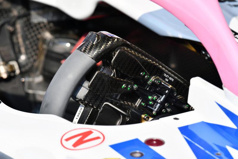Racing Point Force India VJM11 direksiyonu