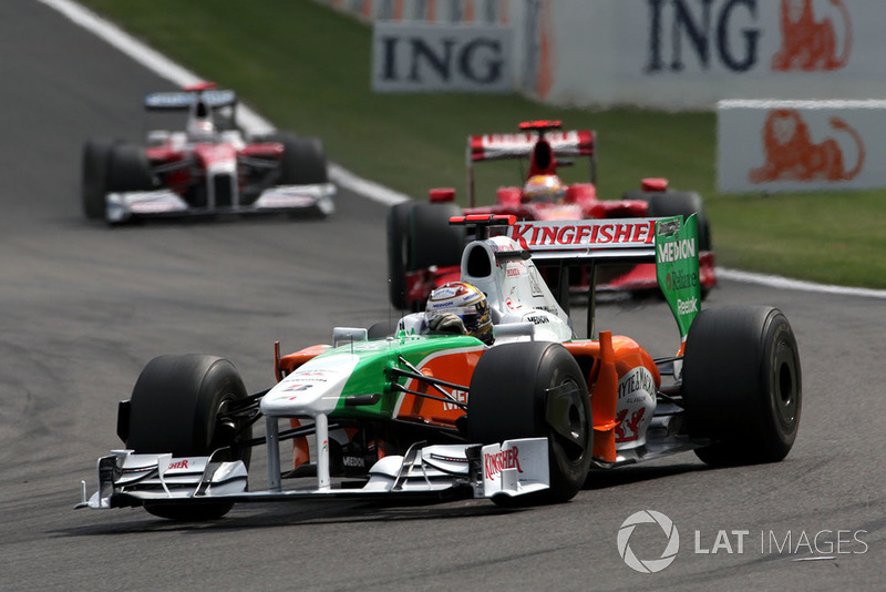 Adrian Sutil, Force India F1 VJM02