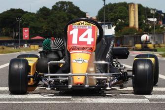 Ayrton Senna'nın kartingi