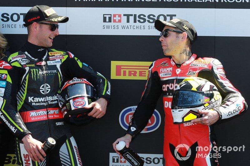 Jonathan Rea, Kawasaki Racing, Alvaro Bautista, Aruba.it Racing-Ducati Team