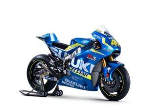 Suzuki MotoGP 2016 Bike detail