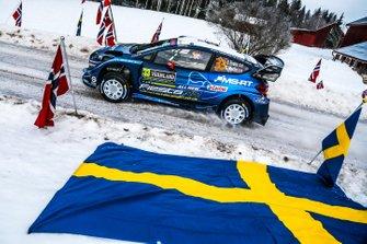 Елфін Еванс, Скотт Мартін, Ford Fiesta WRC, M-Sport Ford