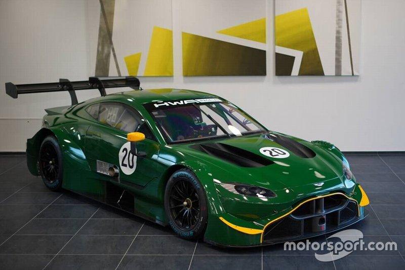 Aston Martin в салоне DWA Autohaus