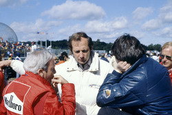 Teddy Mayer, Ron Dennis and John Barnard