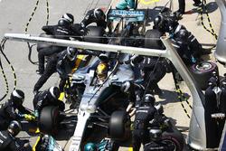 Пит-стоп: Льюис Хэмилтон, Mercedes AMG F1 W08