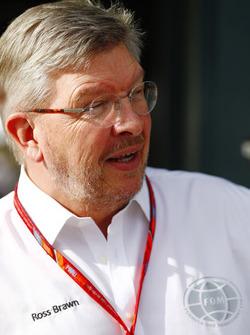 Ross Brawn, directeur du sport automobile, FOM