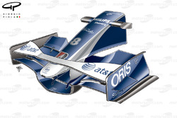 Williams FW30 2008 Spain front wing