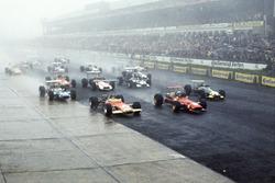 Start: Chris Amon, Ferrari 312, führt
