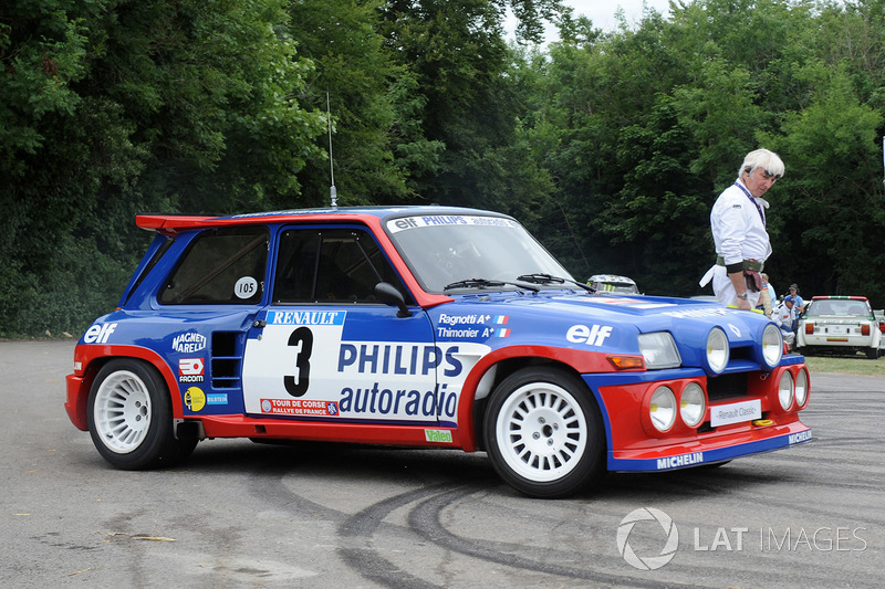 jean ragnotti renault 5 turbo at goodwood festival de la velocidad vintage fotos. Black Bedroom Furniture Sets. Home Design Ideas