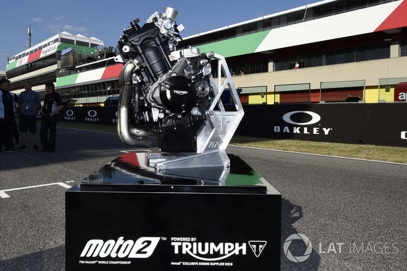 Triumph Moto2 engine supplier for 2019