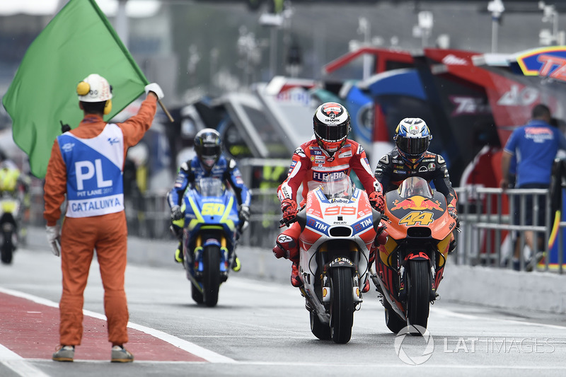 Хорхе Лоренсо, Ducati Team, и Пол Эспаргаро, Red Bull KTM Factory Racing